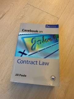 Casebook on Contract Law (Jill Poole)