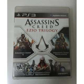 刺客教條2 Ezio三部曲 合輯 PS3 兄弟會 啟示錄 Assassin's Creed Revelations