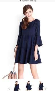 🚚 Lilypirates Sweet Surprise Dress Midnight Blue