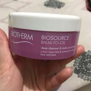 Biotherm Makeup Cleanser Balm