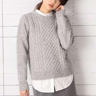 轉日貨bin ▸LOWRYS FARM◂ 經典編織紮實針織毛衣