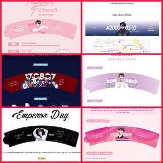 LF WANNA ONE CUPSLEEVES