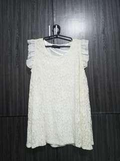 White Korean dress