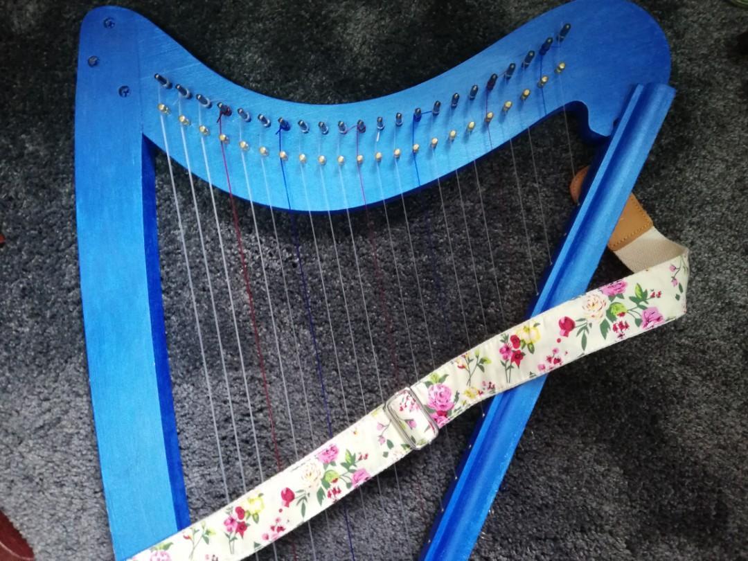 豎琴背帶 harp strap+strap button