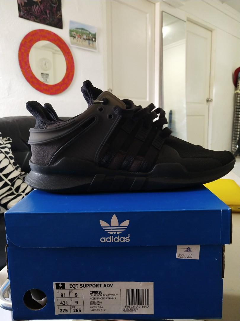 new arrival 3ec8c a92fb Adidas EQT Support ADV triple black