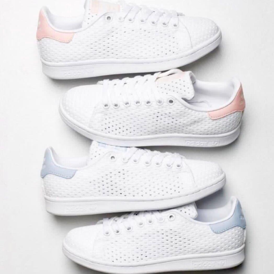 Adidas Originals Stan Smith Mesh (Pink