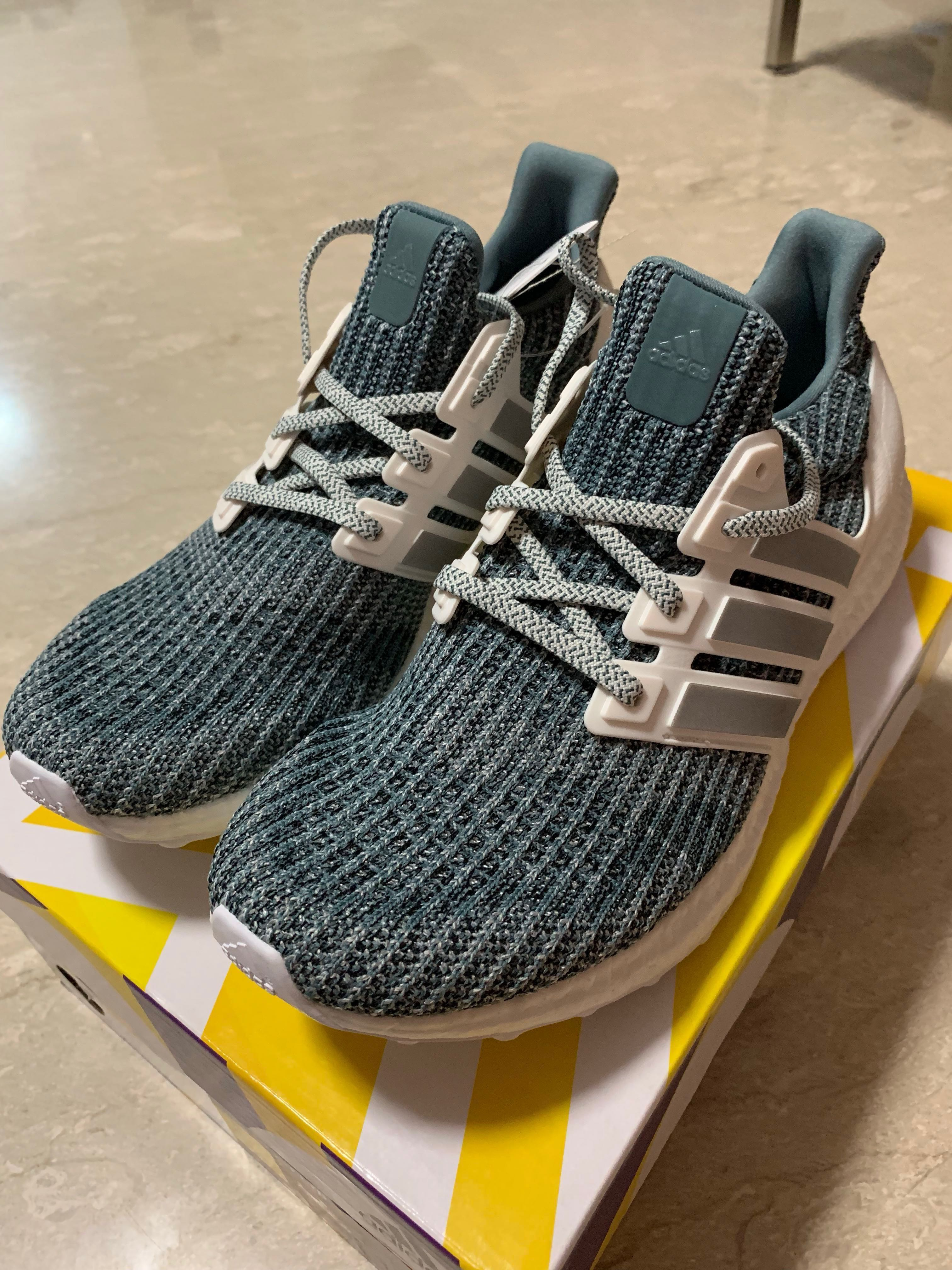 new arrivals 225b8 eb399 Adidas Ultra Boost LTD - Cloud White Silver, Men s Fashion, Footwear,  Sneakers on Carousell