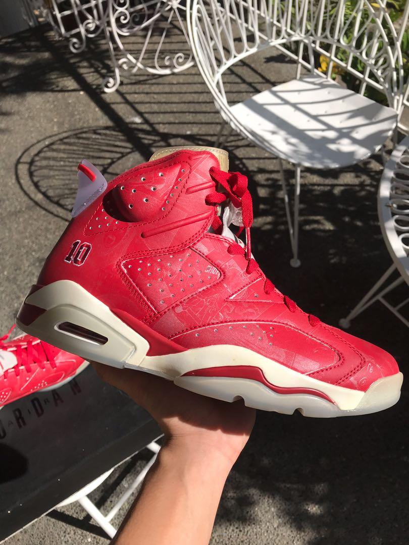 e2f3c9fbd2d Air Jordan 6 Retro X Slam Dunk, Men's Fashion, Footwear, Sneakers on  Carousell