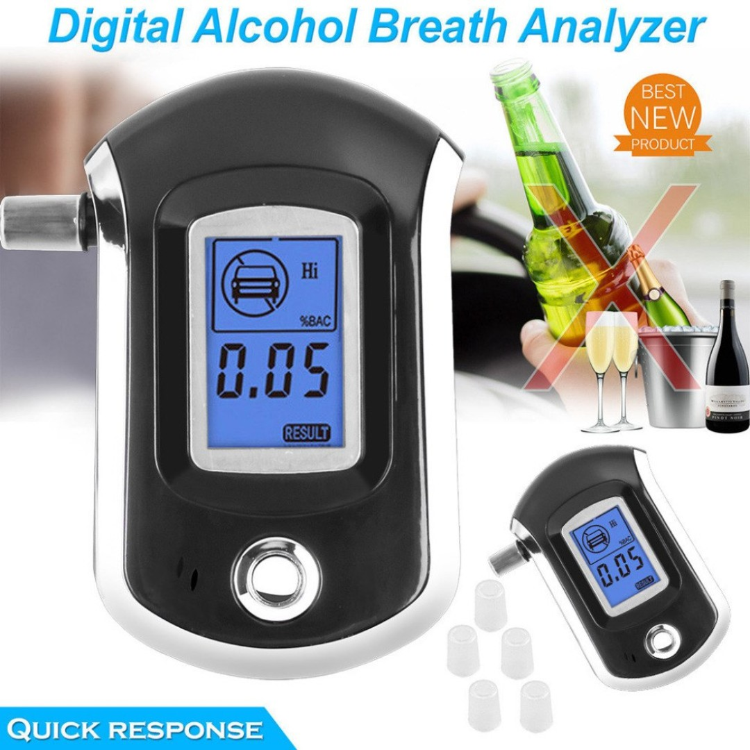 Back To Search Resultstools Alc Smart Breath Alcohol Tester Digital Lcd Breathalyzer Analyzer At6000 Alcohol Gas Analyzers Analyzers