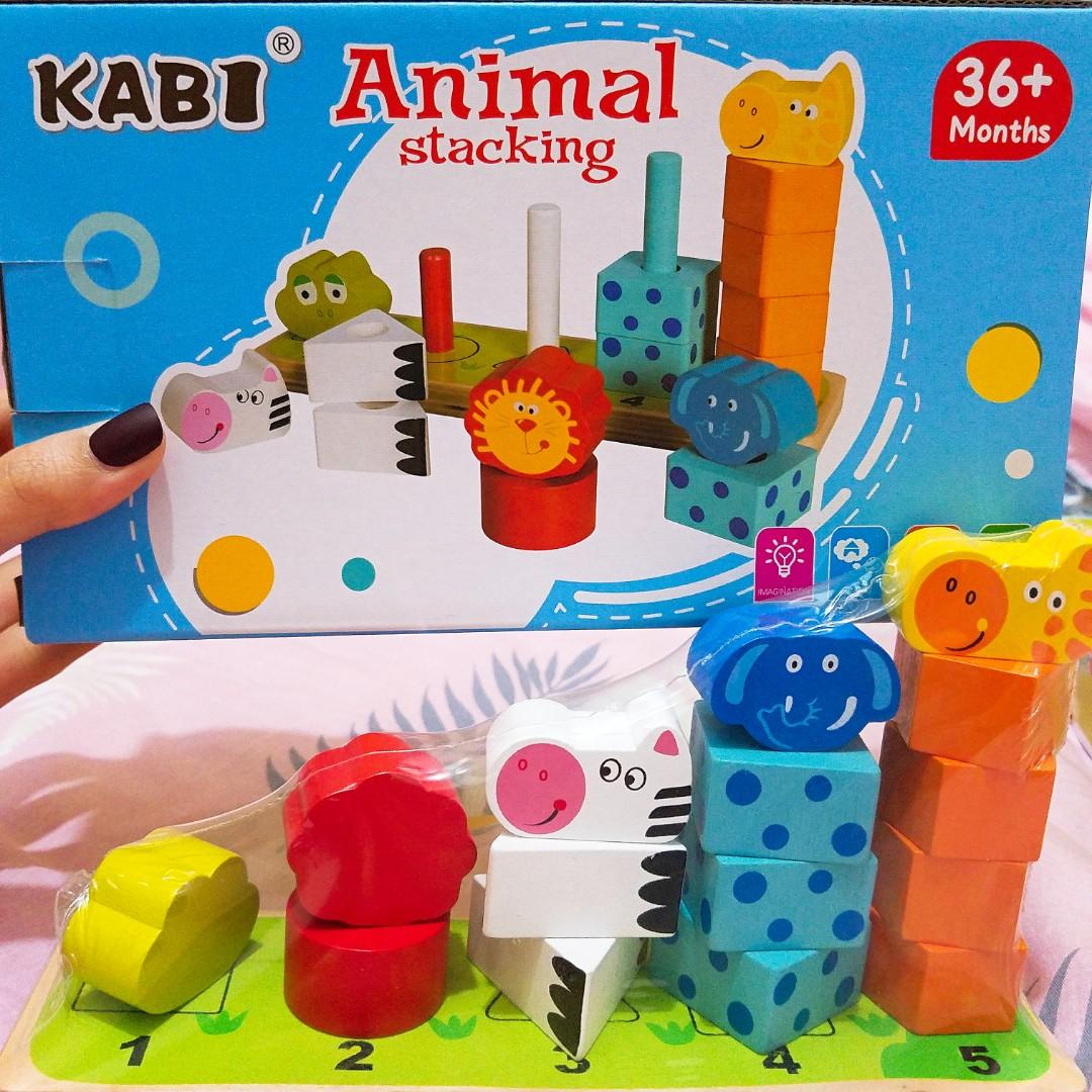Animal Stacking 動物疊疊樂