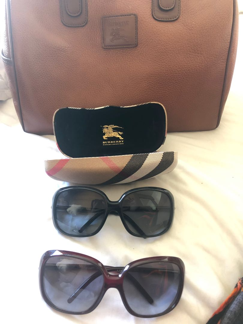 9a9523836bc Authentic Burberry Sunglasses
