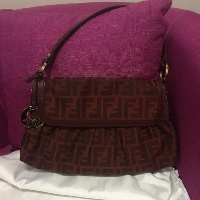 b46f5ac2593b Authentic Fendi bag- price reduced!