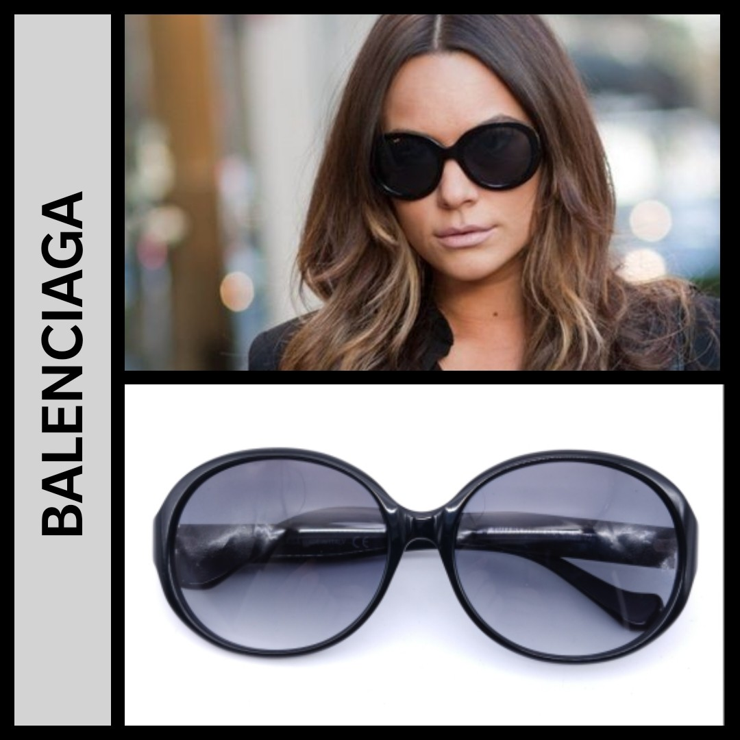 Balenciaga Oval oversized sunglasses BK0111- clearence price ... ad8f5f173