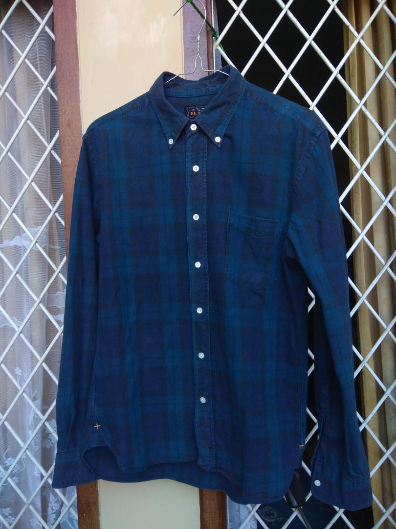 Beams Plus ➕ - Flannel Shirt, Men's Fashion, Men's Clothes