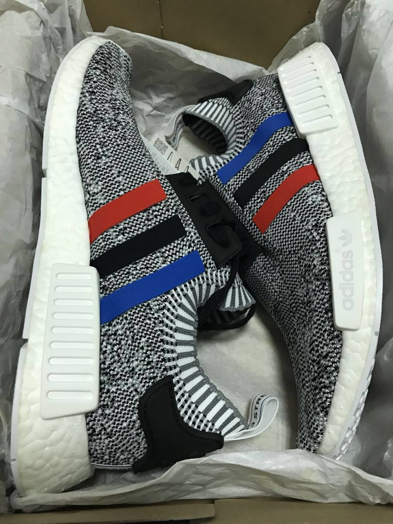 separation shoes 5e751 c2f4e BN ADIDAS NMD R1 PK Tri Colour OG Sneakers, Mens Fashion, Footwear,  Sneakers on Carousell