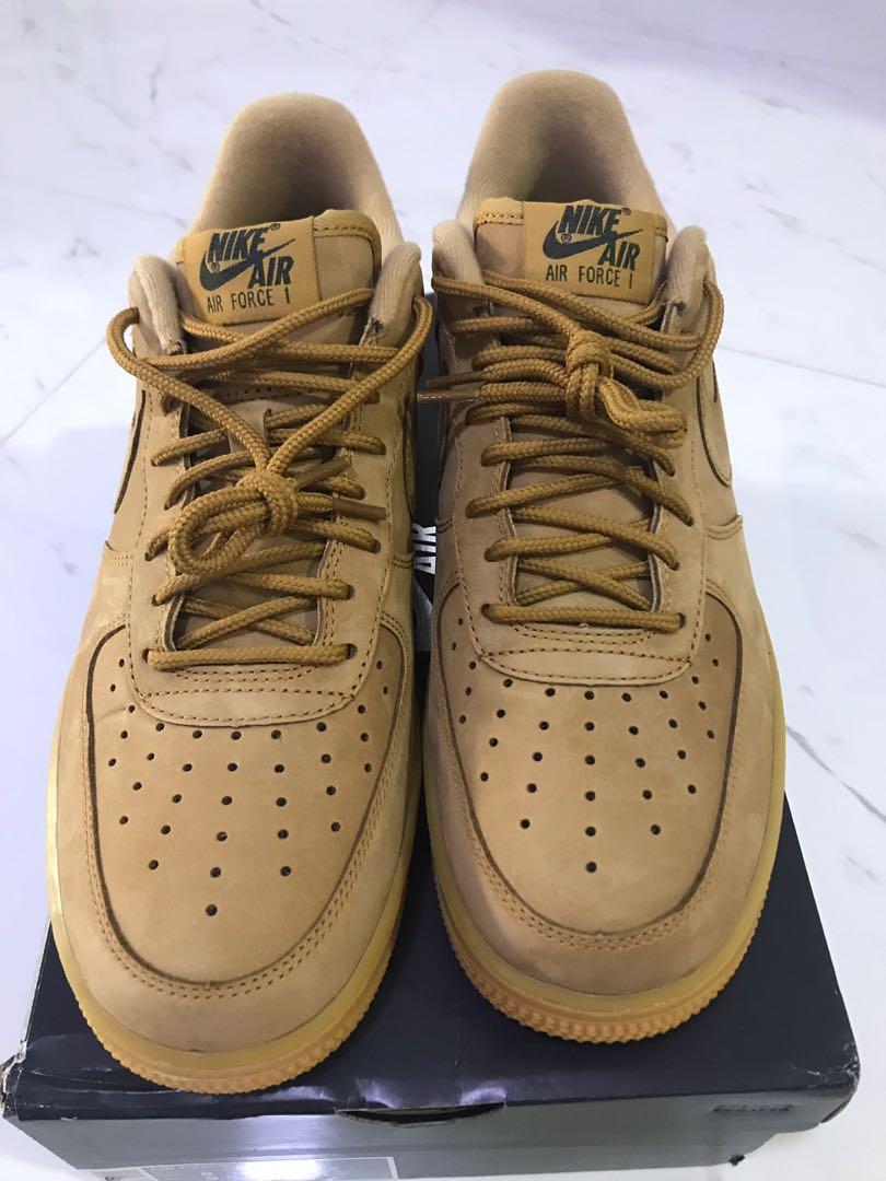 Wheat Nike Air Colorway Bnib Flax Rare Us8 1 Force W9YI2EDH