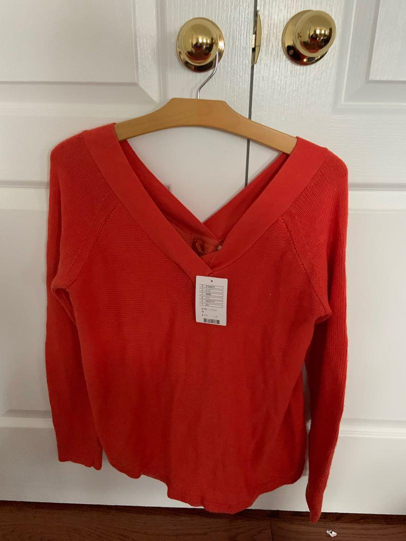 BNWT. Sweater from Anthropologie. Retails $100+ size M