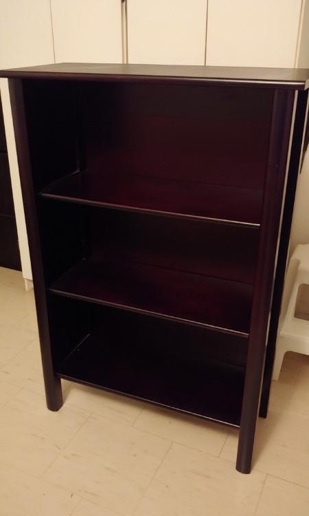 Bookcase/Shelf - Dark Espresso Brown *moving sale*