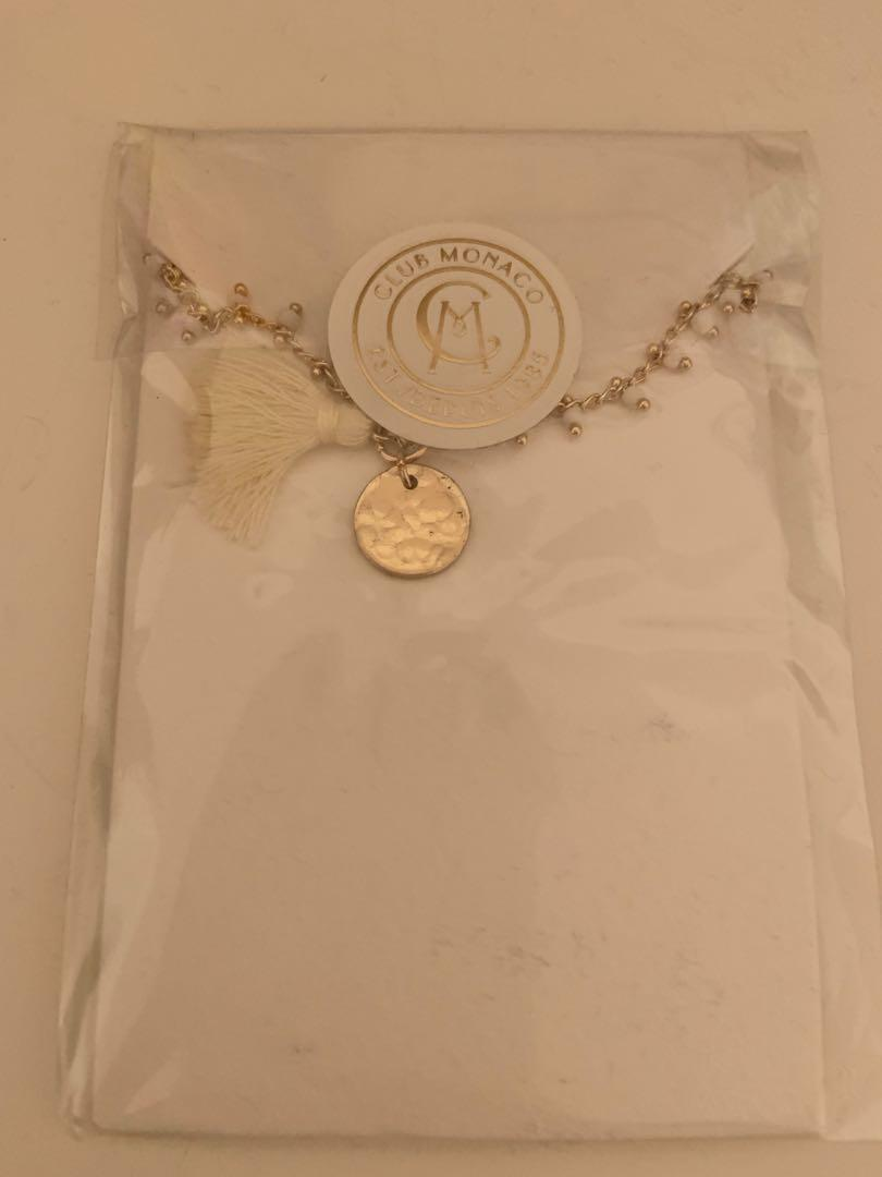 Brand new in package club Monaco long necklace