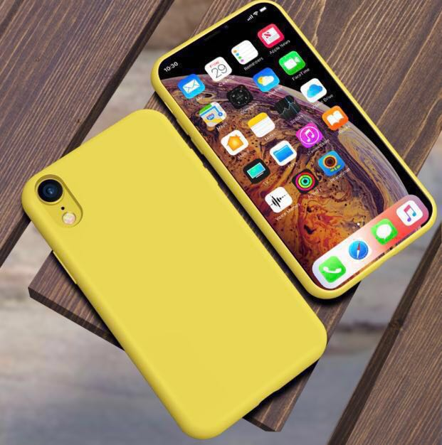 buy online 2765f daf7d [BRAND NEW] iPhone XR Silicone Phone Case (Lemon Yellow)