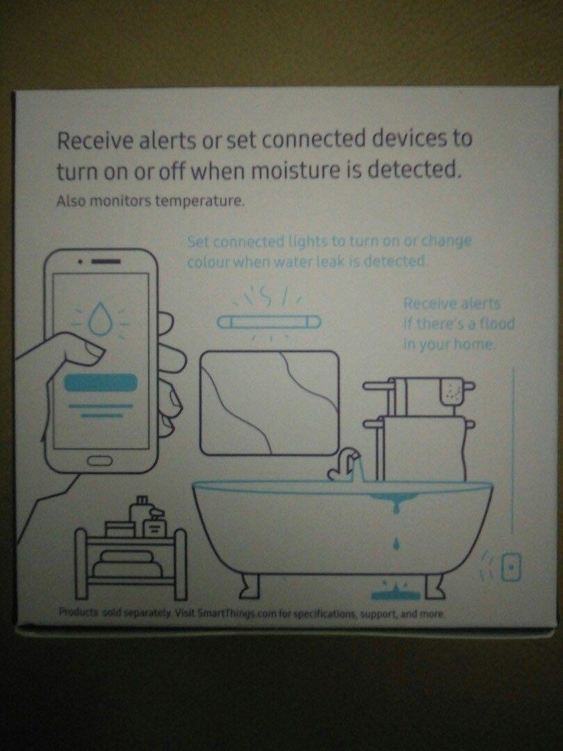 Brand New Original SAMSUNG SmartThings Water Leak Sensor