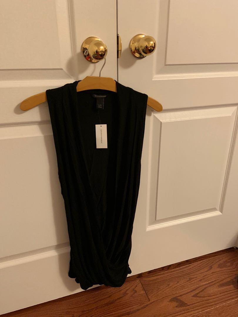 Brand new with tag. Banana republic tank top. Size L
