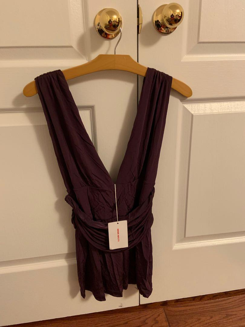 Brand new with tag. Miss sixty top. Size L. Retails $100+