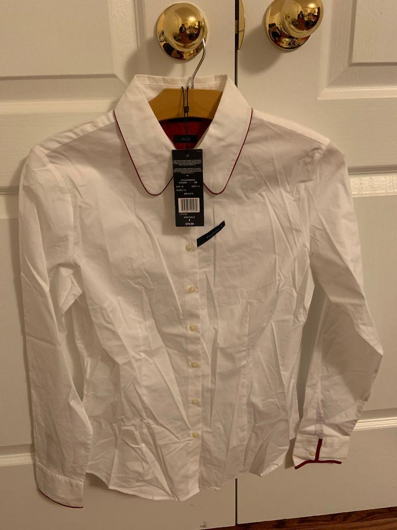 Brand new with tag Tommy Hilfiger dress shirt. Size 8