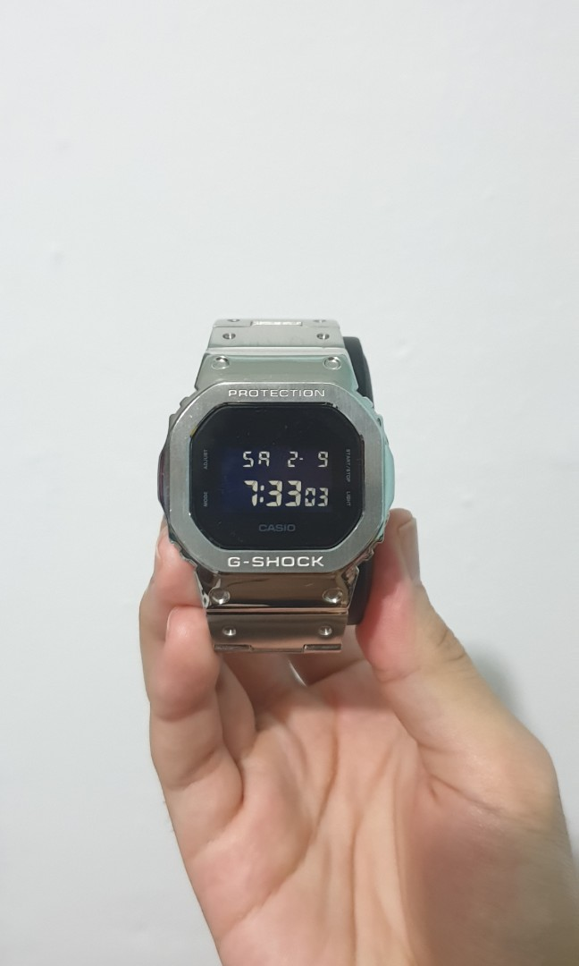 Casio Dw 5600bb Custom Bracelet Men S Fashion Watches On Carousell