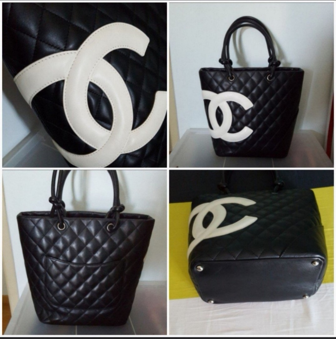 4f600837dea9 Chanel cambon tote, Luxury, Bags & Wallets, Handbags on Carousell