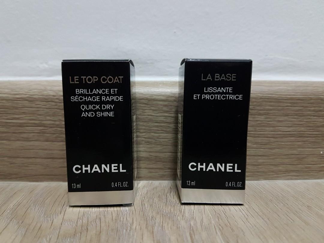 54dfdd61 Chanel Le Top Coat + La Base