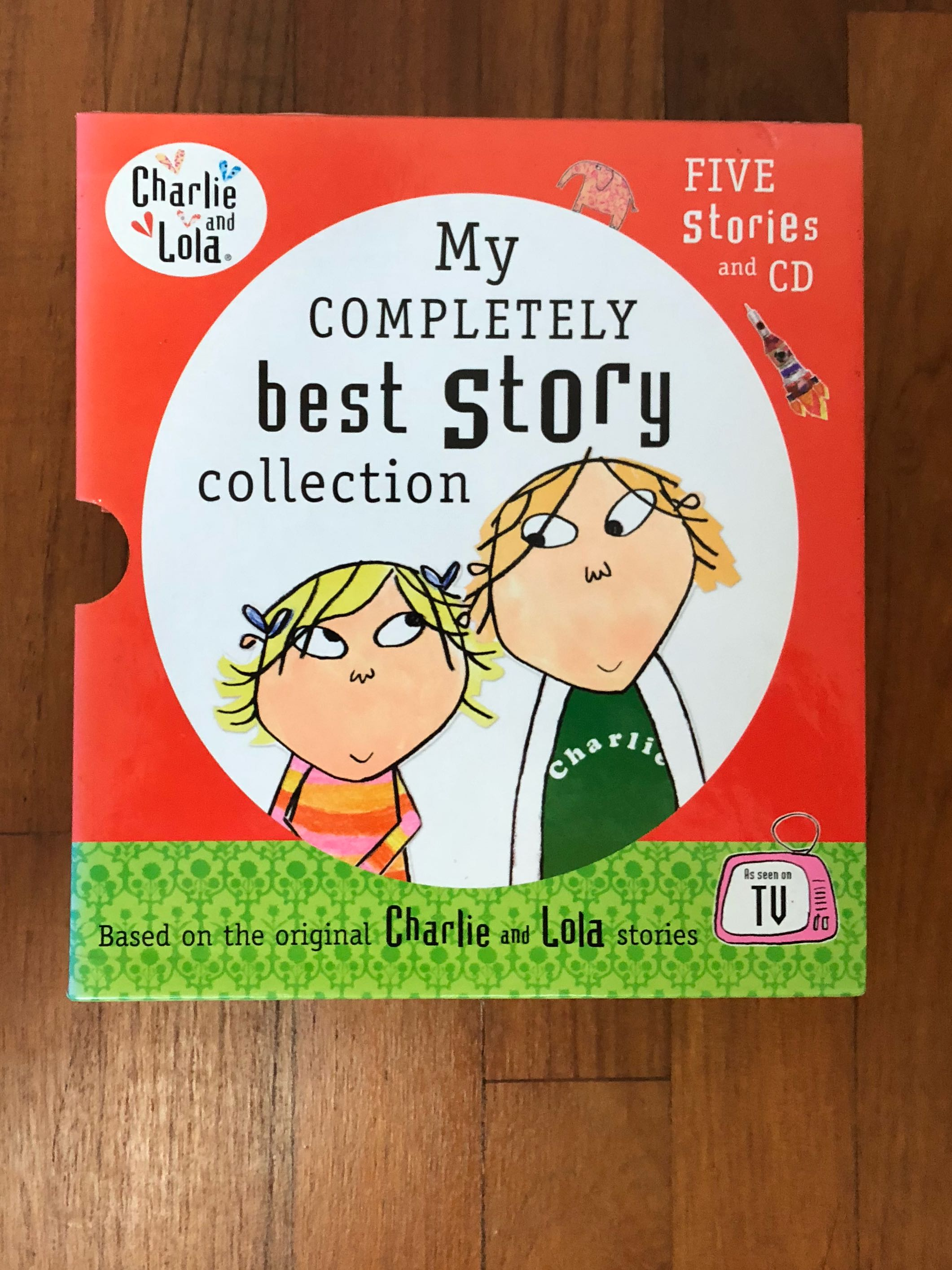 Charlie and Lola: My Completely Best Story Collection (5 Stories and CD)