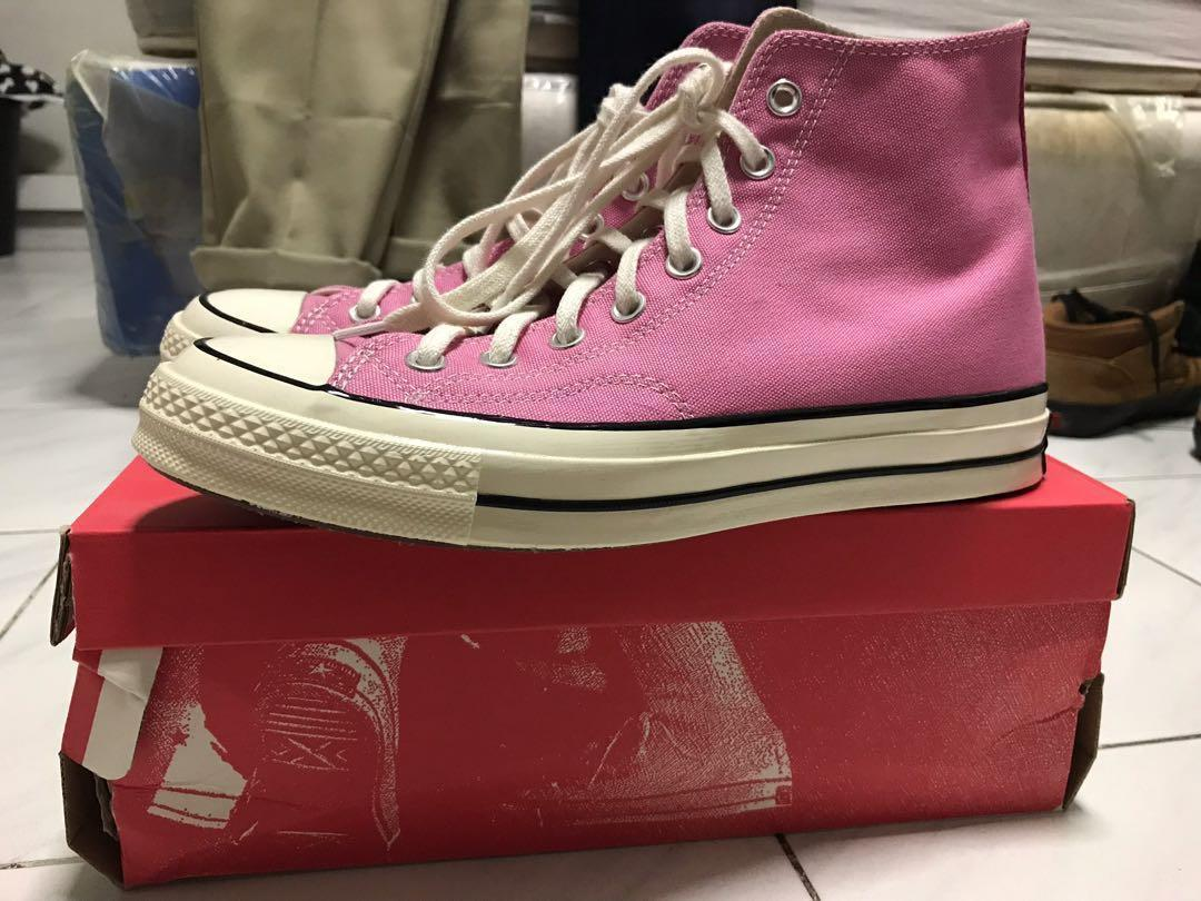 ba2f77a16321 Converse Chuck Taylor 70s Hi-Cut RARE colorway in Chateau Rose on Carousell