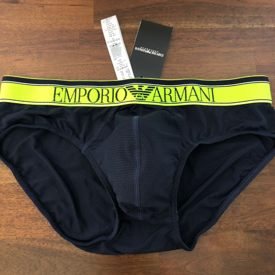4f0d68359692 Emporio Armani Training Briefs, Men's Fashion, Clothes, Bottoms on ...