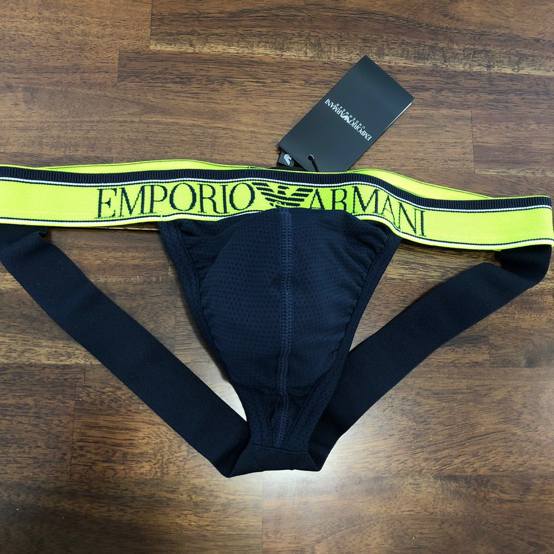 f4c85ab4b020 Emporio Armani Training Jockstrap, Men's Fashion, Clothes, Bottoms ...