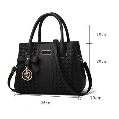 Fashion Women Sling Hanbag Multi Compartment Embroidered