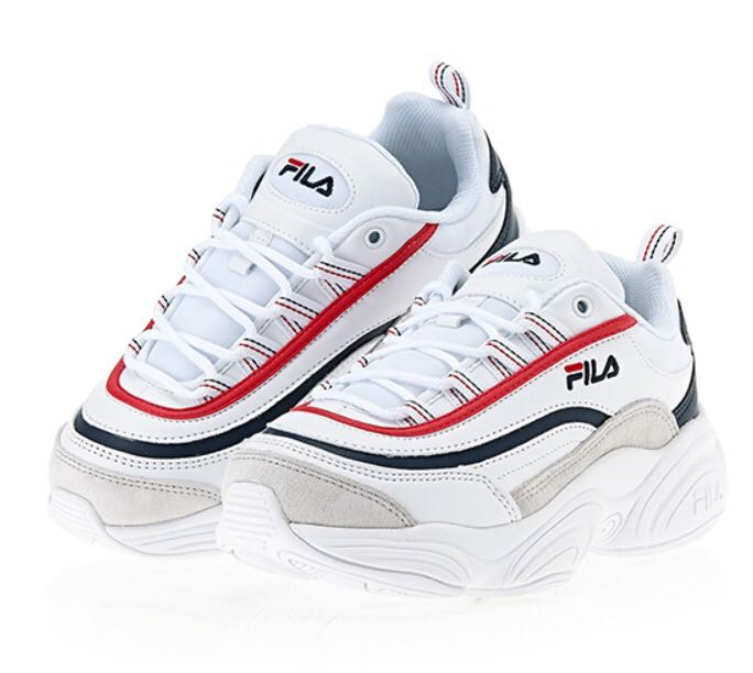 Fila ray run red blue 9040af019b8
