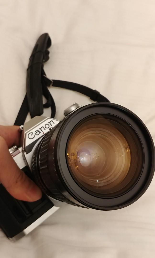 Fully functioning Canon av1 Av-1 w 35-105mm lens (brother of