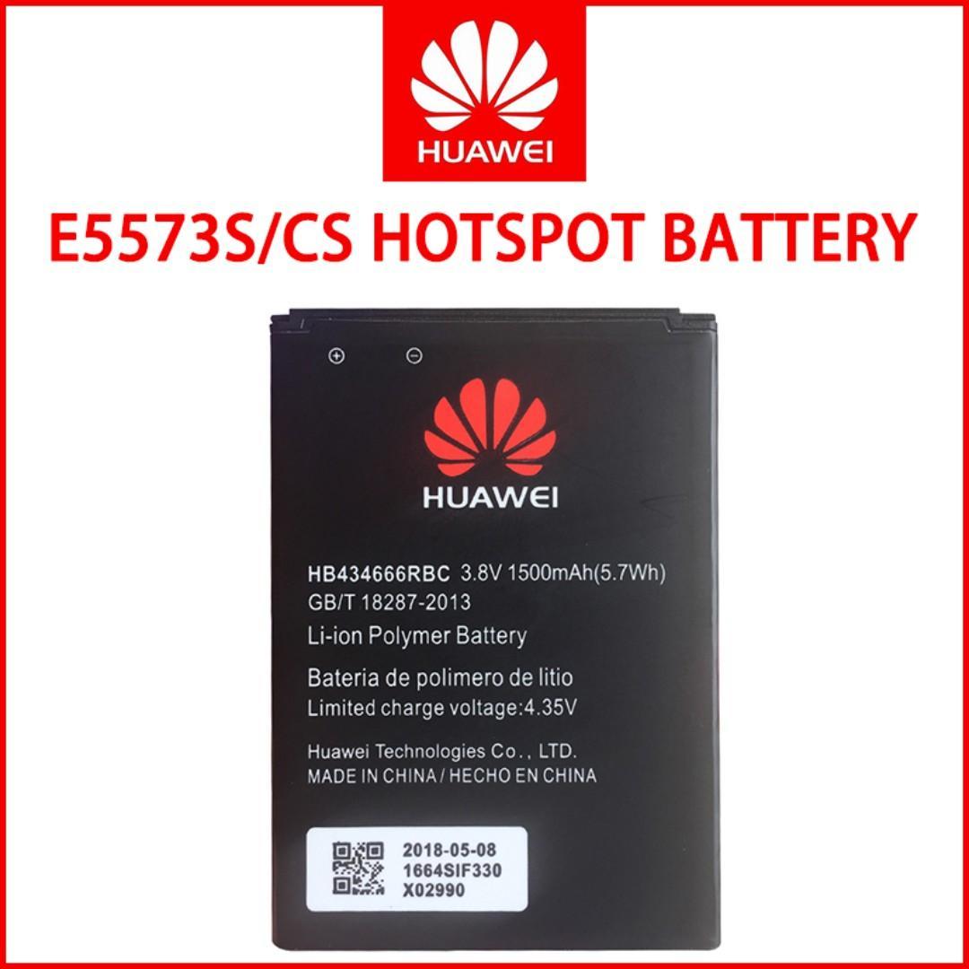 Huawei E5573S/CS Hotspot Battery HB434666RBC 1500mAh, Mobile
