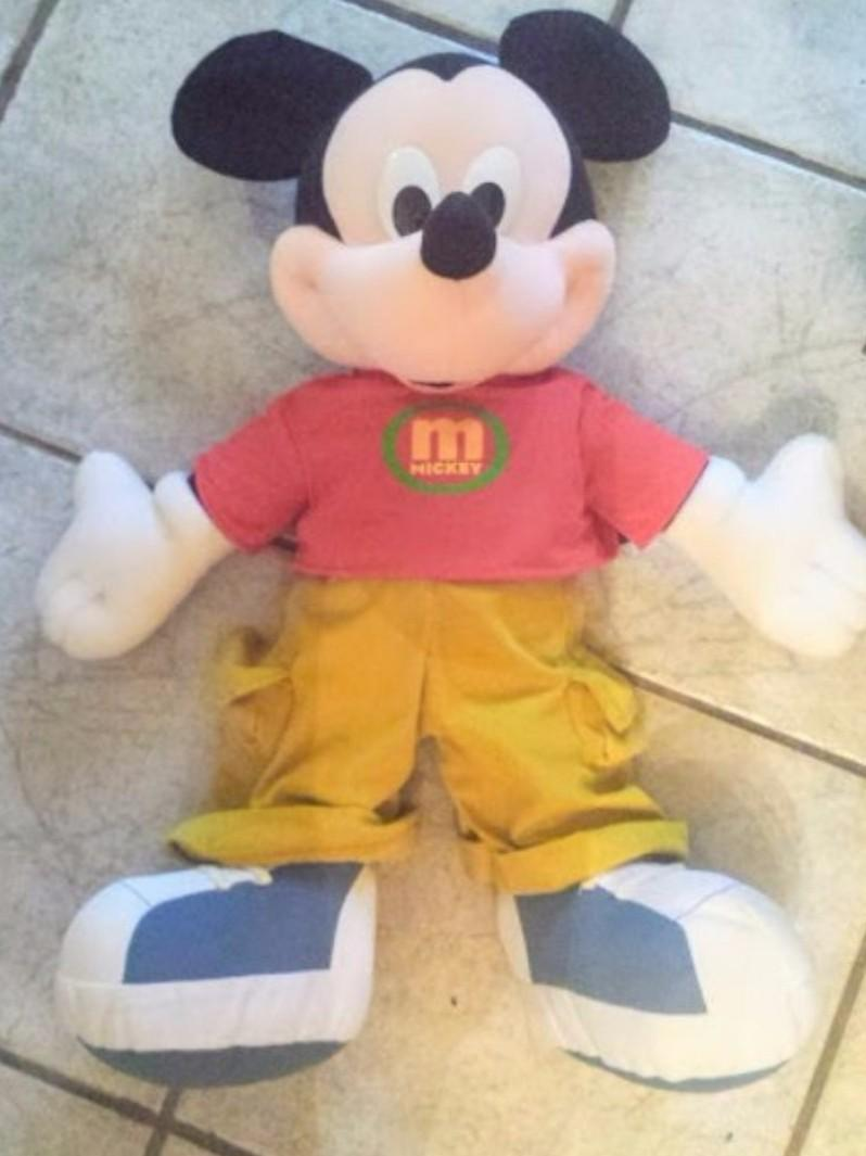 Huge Plush Mickey Mouse