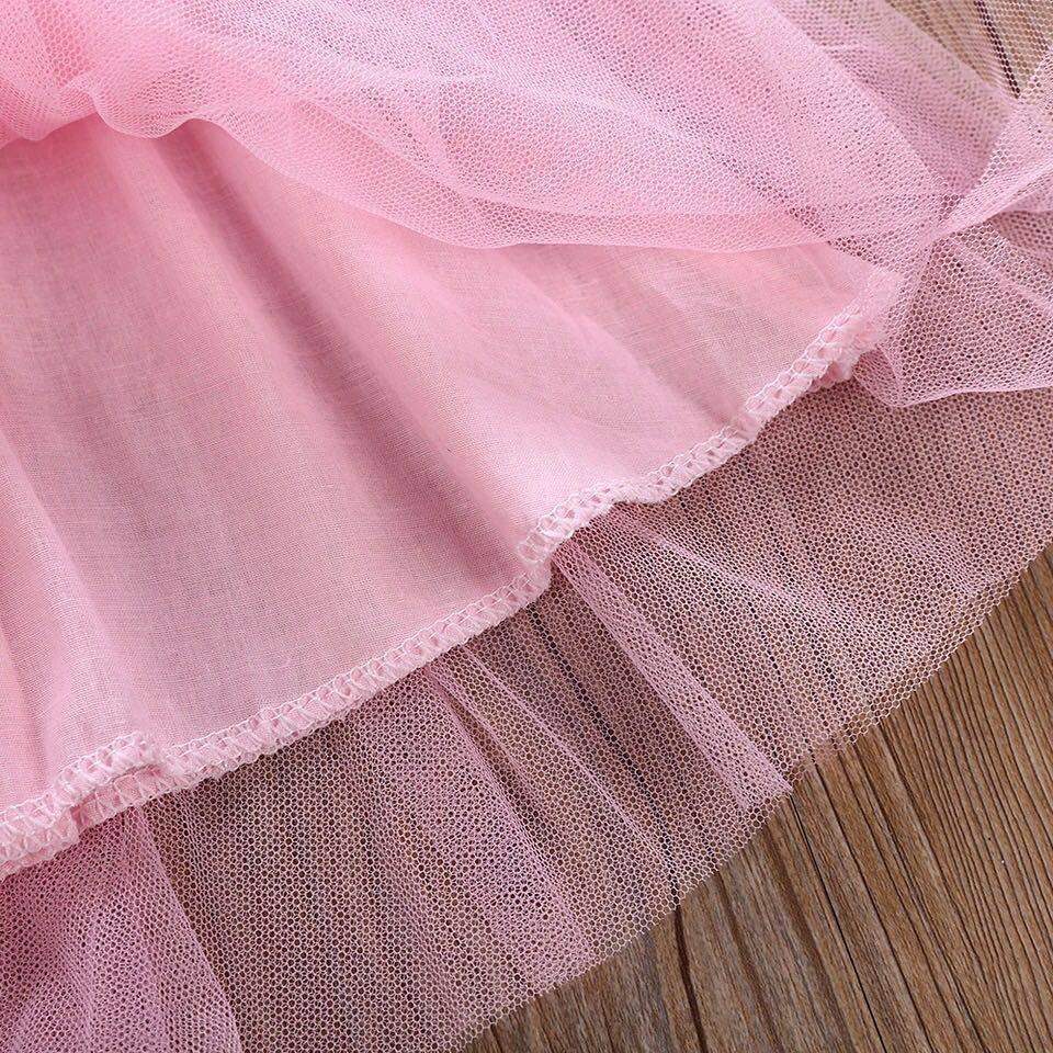⭐️Instock⭐️ Pink Floral Tulle Dress