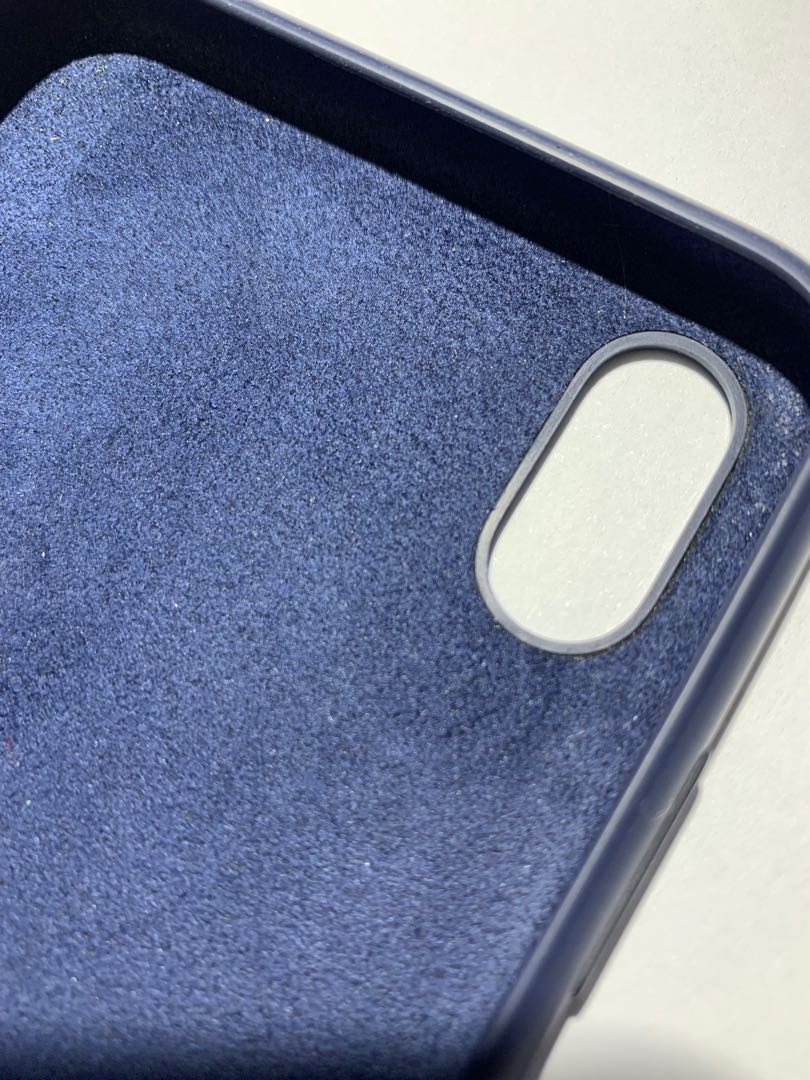 finest selection fd10b aafc8 iPhone XS Max Silicone Case - midnight blue