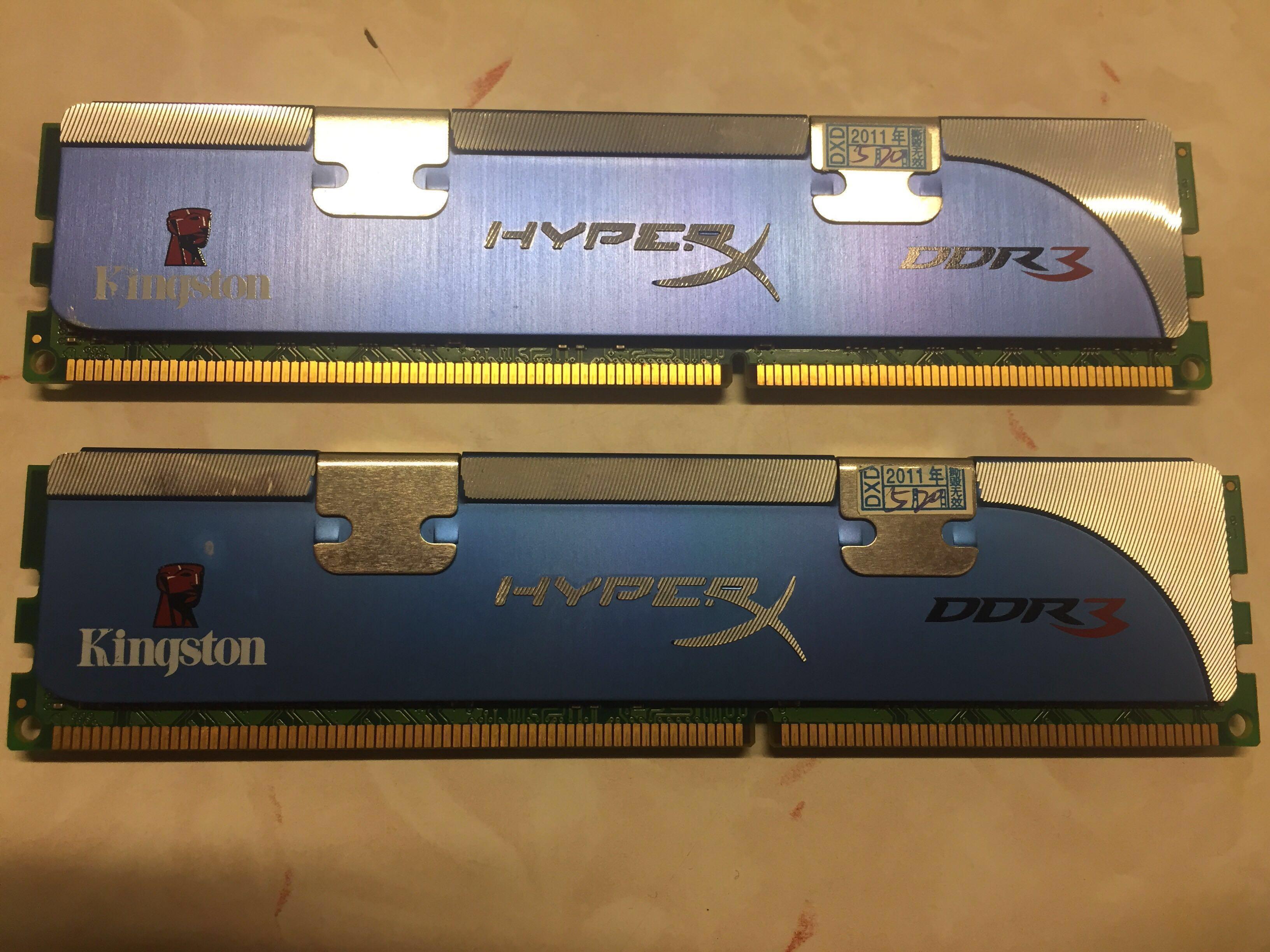 Kingston DDR3 1600 4GB(2Gx2) Ram