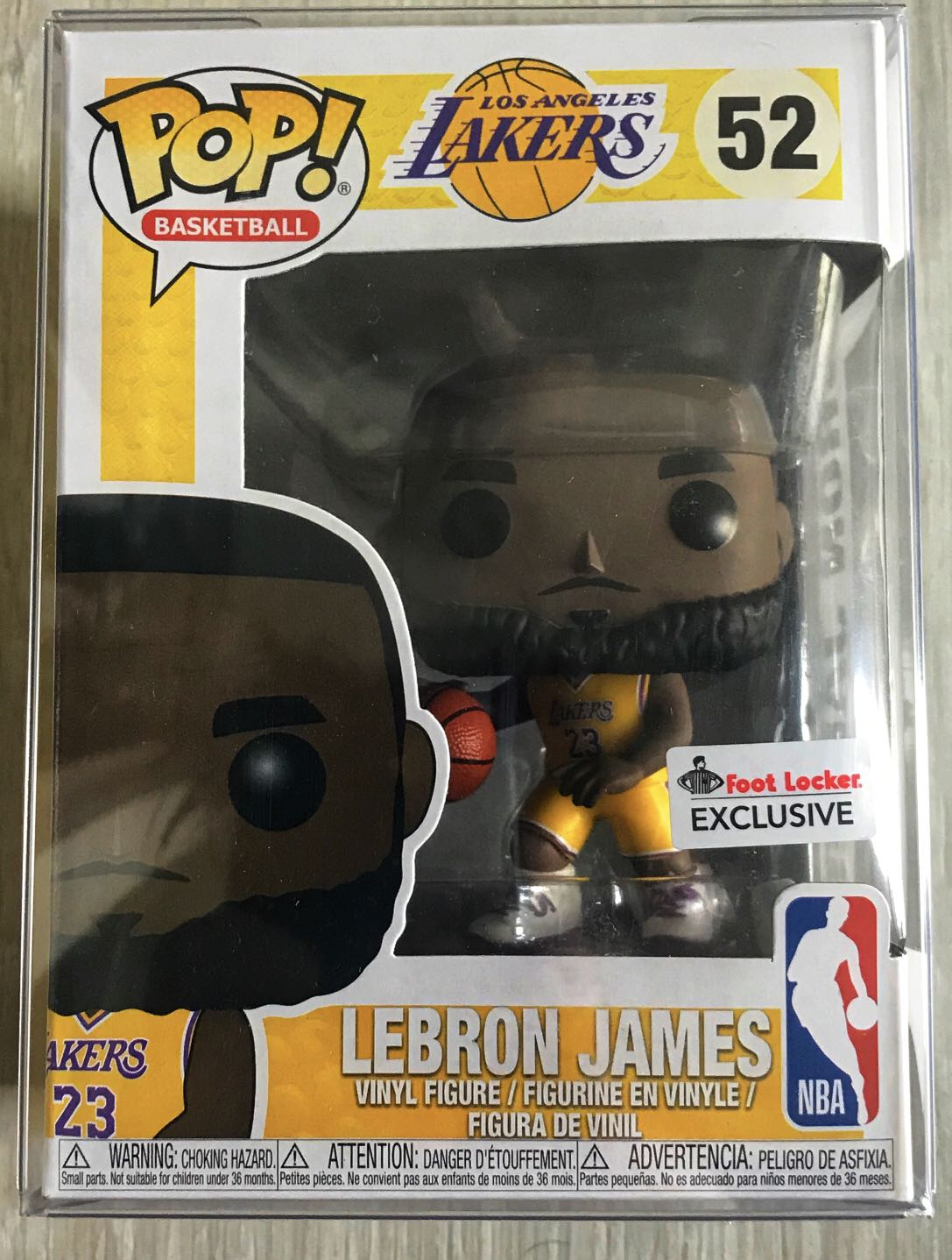 ccf8922d4ba Lebron Funko Pop Foot Locker Exclusive