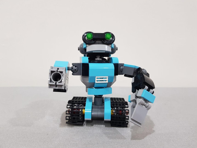 LEGO Creator 31062 Robo Explorer Building Toy Robot Construction Kit Set Box NEW
