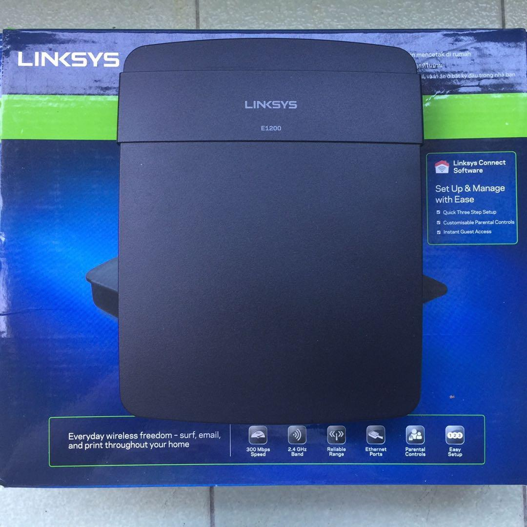 Linksys E1200 Wireless-N Router on Carousell