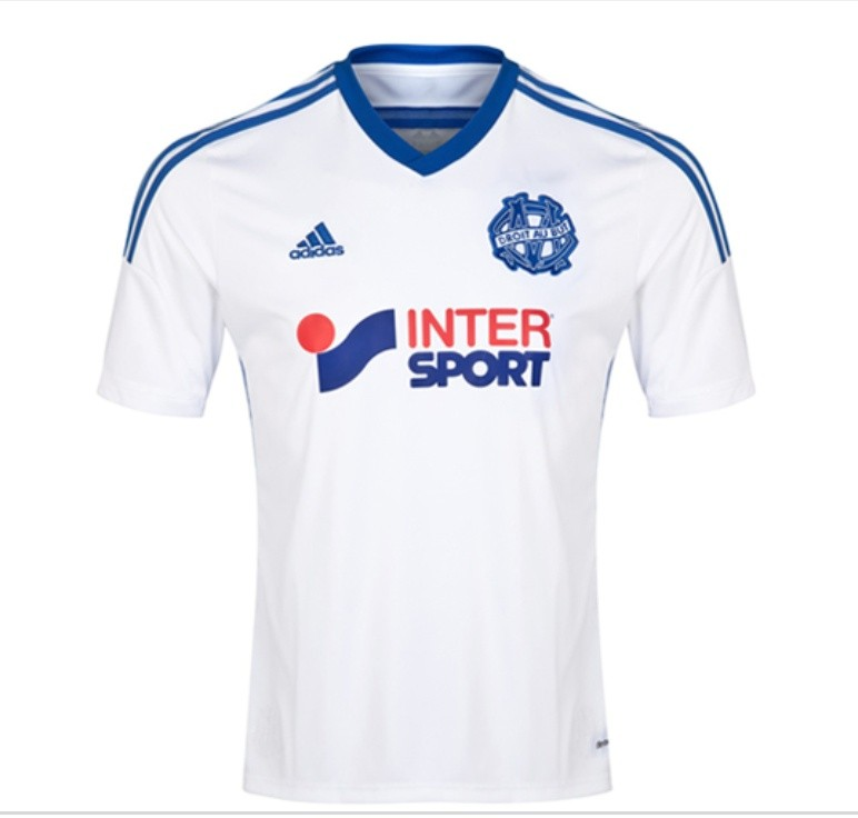 e2e9fb02b Marseille home soccer jersey, Sports, Sports Apparel on Carousell