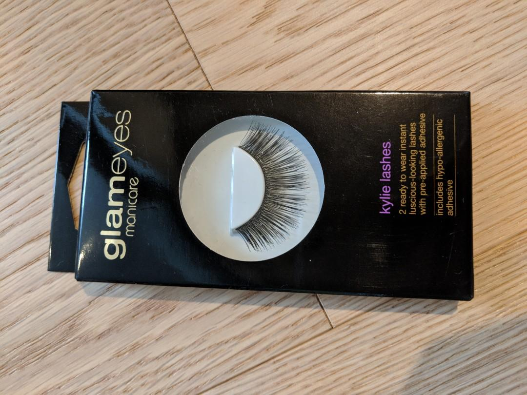 New _ Glam by Manicare lashes 4 boxes (total of 6 pairs)