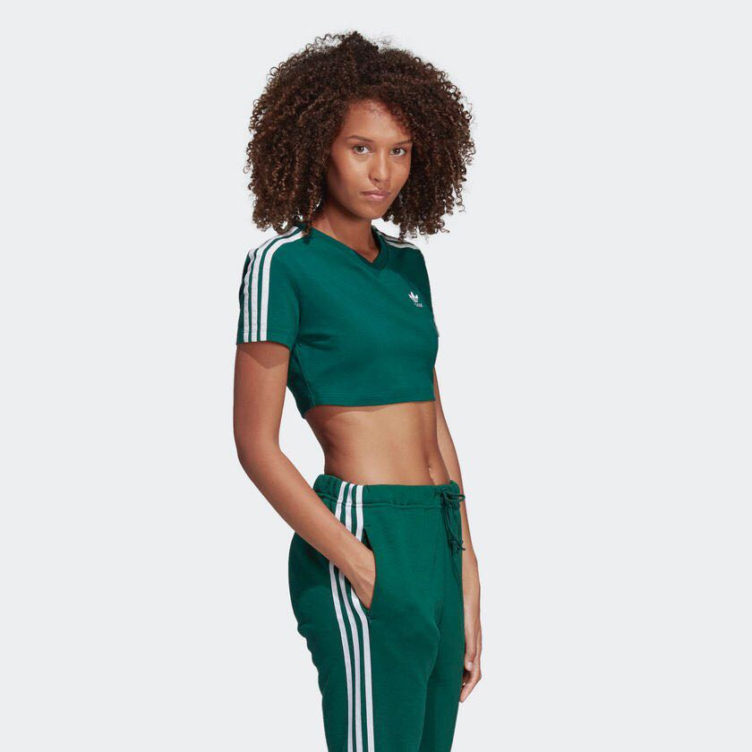 fcd1f8c4 [NEW] Adidas Cropped Tee, Women's Fashion, Clothes, Tops on Carousell