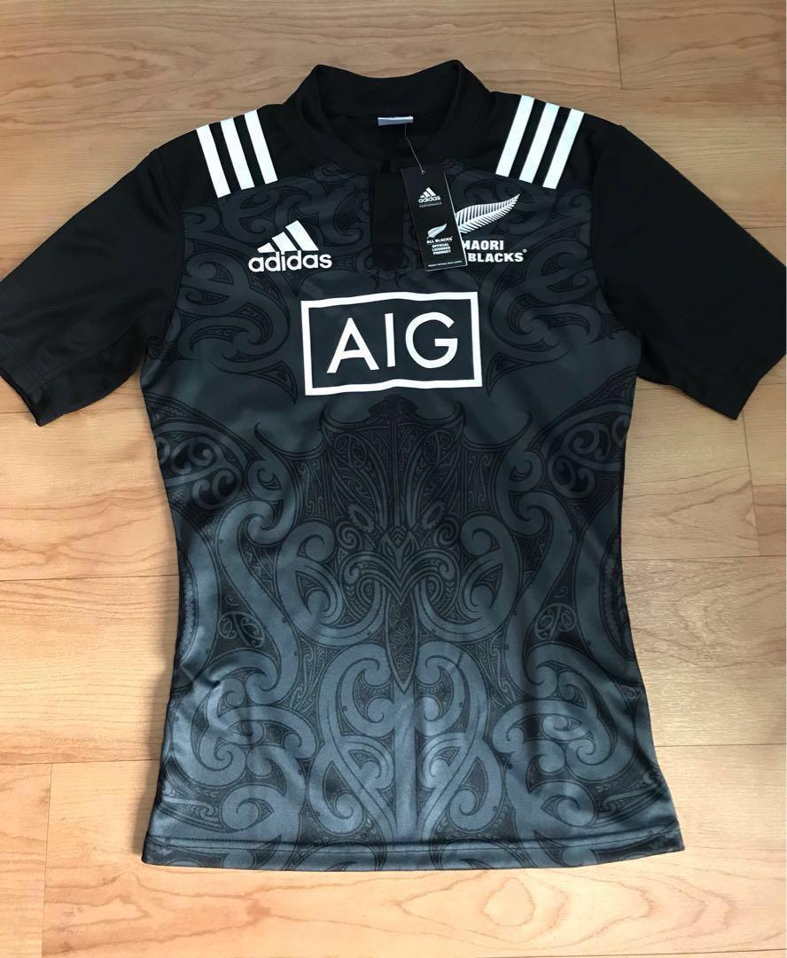 2b6045d3583 NEW All Blacks Maori Jersey (Original) #OCT10, Men's Fashion ...